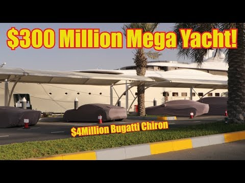 Mysterious Hypercars of the $300 Million Mega Yacht
