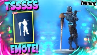 Fortnite TSSSSS DANCE EMOTE - France 'LEAKED' Saison 10 Emote!
