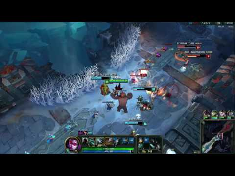 Funny Game Videos | Relaxing Games | League Of Legends | Aram Fight # 76 Vayne
