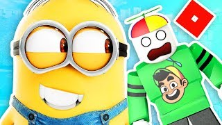 One of Guava Games's most viewed videos: ESCAPE THE MINIONS! | Roblox | Guava Games