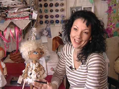 видео: Авторские куклы Ирины Сазанович