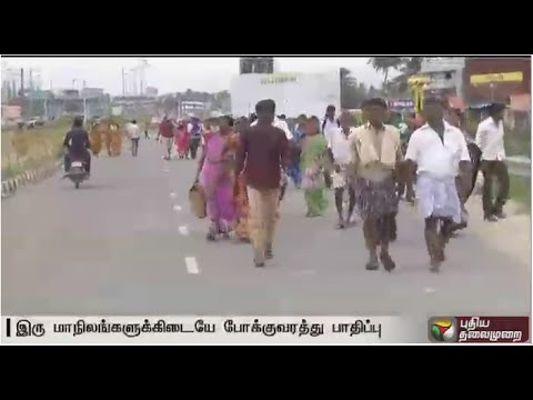 Cauvery issue: Prevailing situation at  TN-Karnataka border in view of  developments in the issue