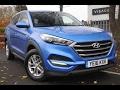 Used Hyundai Tucson 1.7 CRDi Blue Drive S 5dr 2WD Blue 2016