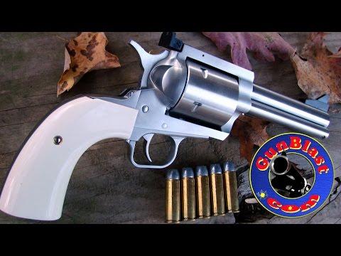 Shooting the Magnum Research BFR 475 Linebaugh / 480 Ruger Revolver - Gunblast.com