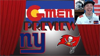 New York Giants @ Tampa Bay Buccaneers   Game 3 Preview   Colorado G-MEN Style