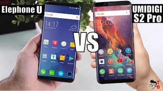 Elephone U vs UMIDIGI S2 Pro: I BET you will NOT GUESS which one is better!