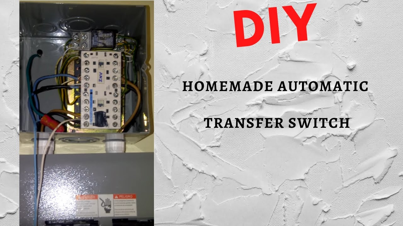 Diy Homemade Automatic Transfer Switch Youtube Wiring Diagramautomatic