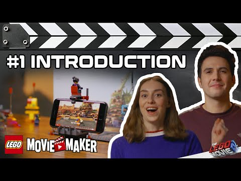 Movie Maker Introduction - THE LEGO MOVIE 2 - Movie Maker Master Classes