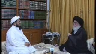 لقاء السيِّد حسين إسماعيل الصدر مع مبعوث سلطان البهرة في الهند