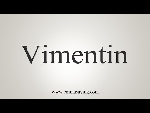 How To Pronounce Vimentin