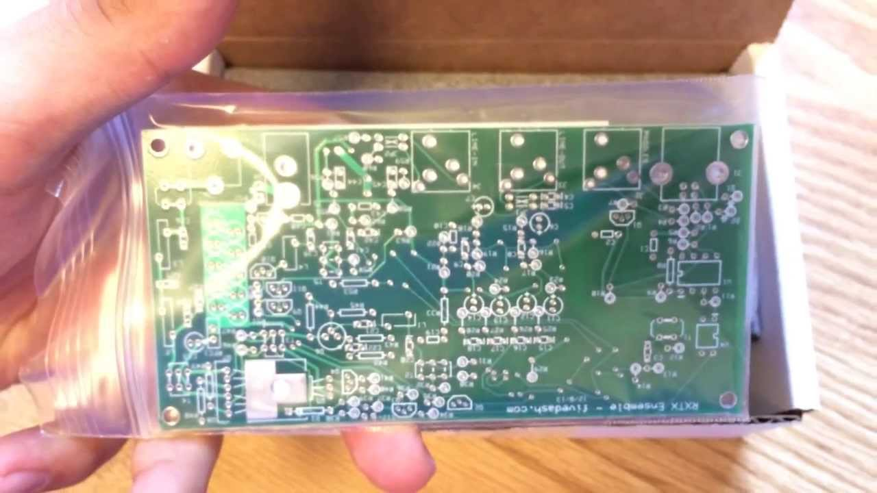 Unboxing the Softrock RXTX Amateur Radio SDR Transceiver Kit