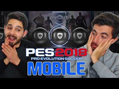 Onur İle Top Açılımı (Efsane Oyuncu Geldi) Pes 2018 Mobile