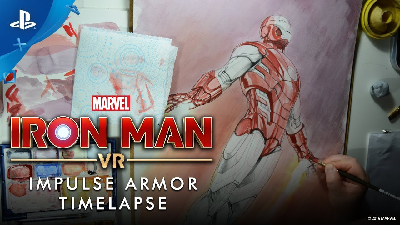 Marvel's Iron Man VR – Impulse Armor Timelapse | PS VR