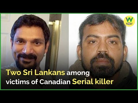 Two Sri Lankans among victims of Canadian serial killer