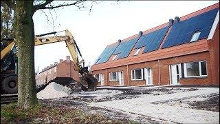 AWB GeniaAir lucht/ water warmtepomp in all electric nieuwbouwwoningen te Grootegast (Groningen)