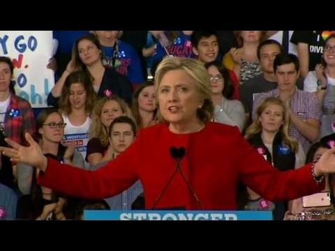 FULL SPEECH: Hillary Clinton FINAL RALLY in Raleigh, North Carolina (11/7/2016)