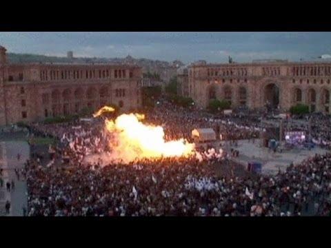 Взрыв в Ереване