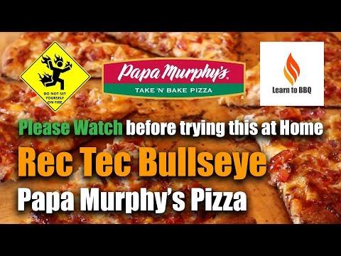 rec tec bullseye grill review papa murphy s pizza grilling