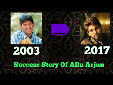 From Zero To Stylish Hero Of South India | The Success Story Of Allu Arjun