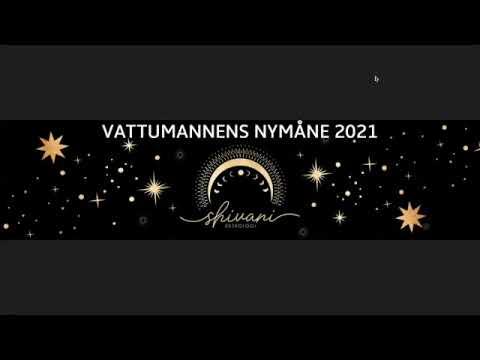 Nymånen i Vattumannen 2021