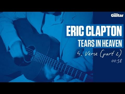 Guitar Lesson: Eric Clapton 'Tears In Heaven' -- Part Four -- Verse Part 2 (TG213)