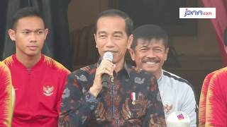 Jokowi Beri Tambahan Bonus untuk Timnas U-22 - JPNN.COM