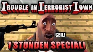 EIN STUNDEN SPECIAL! | Trouble in Terrorist Town - TTT | Zombey