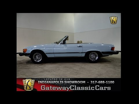 1977 Mercedes Benz 450SL Convertible #117-ndy - Gateway Classic Cars - Indianapolis