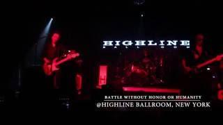 ニューヨーク、HIGHLINE BAROON ROOMで行われた布袋寅泰のライブよりBat...