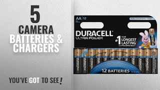 Top 10 Camera Batteries & Chargers [2018]: Duracell Ultra Power Type AA Alkaline Batteries, Pack of