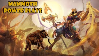 MAMMOTH POWER PLAYS