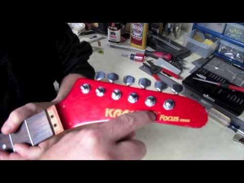 Kramer Focus 2000 NeckMade In Japanm4v - YouTube