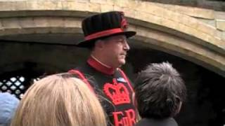 Yeoman Warden At Tower Of London, Part II Of Four