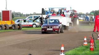 Carpulling Snelrewaard 2011 Simply Red 1ste manche autotrek