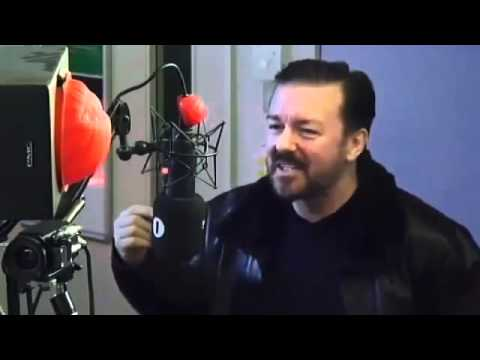 ricky gervais guide to comic relief