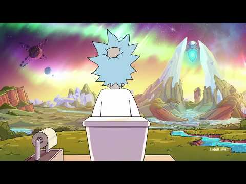 Rick And Morty S04E02  Rick's Toilet | The Old Man And The Seat