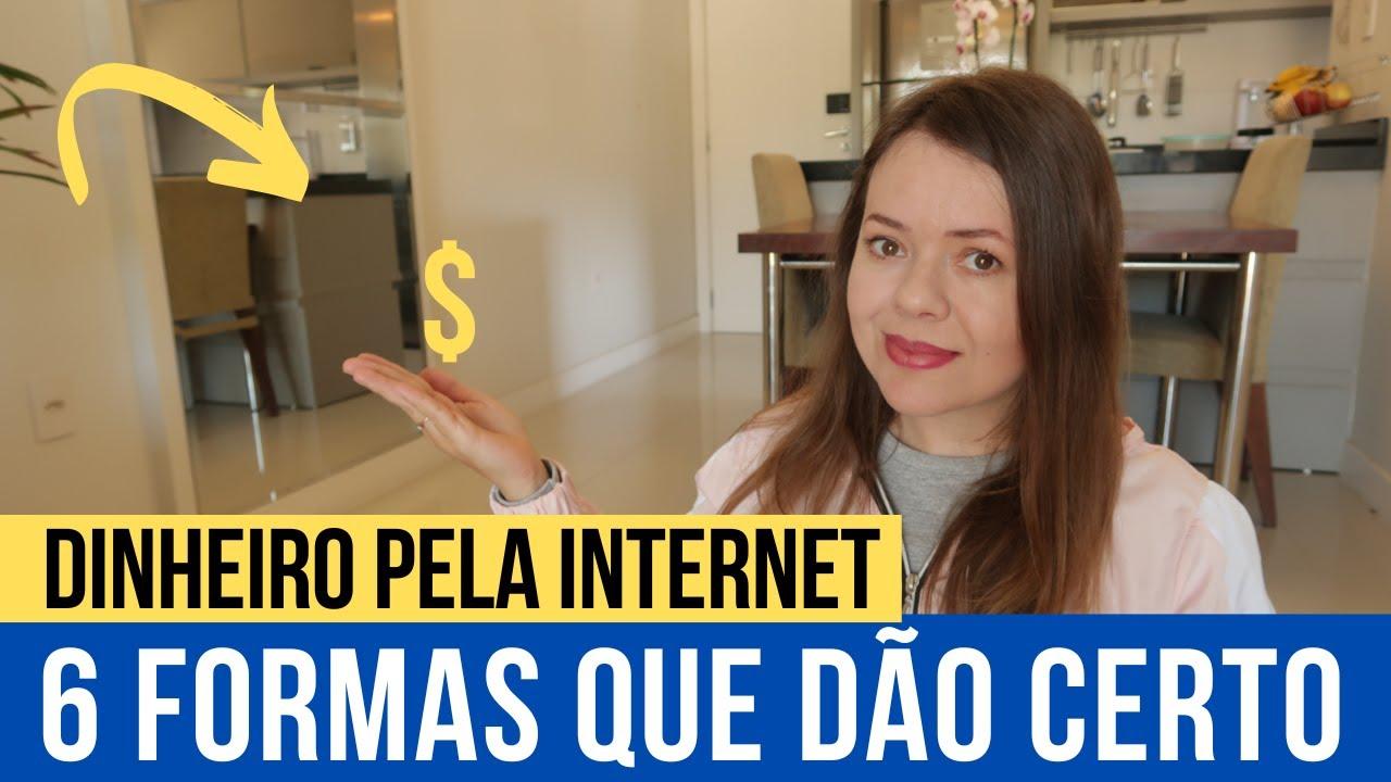 Renda Extra - 6 JEITOS DE GANHAR DINHEIRO NA INTERNET | Todas deram certo pra mim | ROSANA RADKE