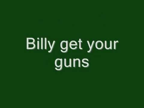 Jon Bon Jovi-Billy get your guns Lyrics