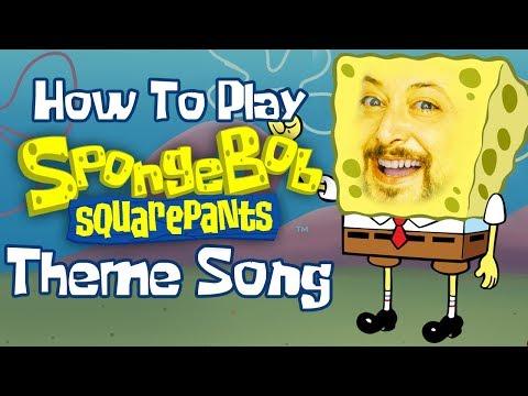 Spongebob Squarepants Theme Song Guitar Lesson