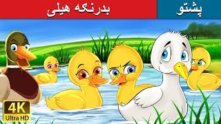 Gambar cover بدرنګه هيلۍ | Ugly Duckling in Pashto | Pashto Story | Pashto Fairy Tales