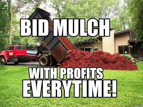 How To Bid Mulch