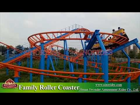 carnival rides backyard roller coaster for sale youtube