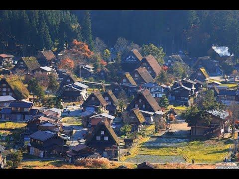JAPAN GEOGRAPHIC 4K 世界遺産 岐阜白川郷・富山五箇山 Shirakawago,Gifu/Gokayama,Toyama World heritage