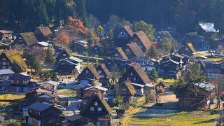 JG 4K 岐阜富山 世界遺産 白川郷五箇山(重伝建,重文) Gifu/Toyama World Heritage Shirakawago/Gokayama