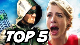 Arrow Season 4 Episode 9 - TOP 5 WTF and Easter Eggs