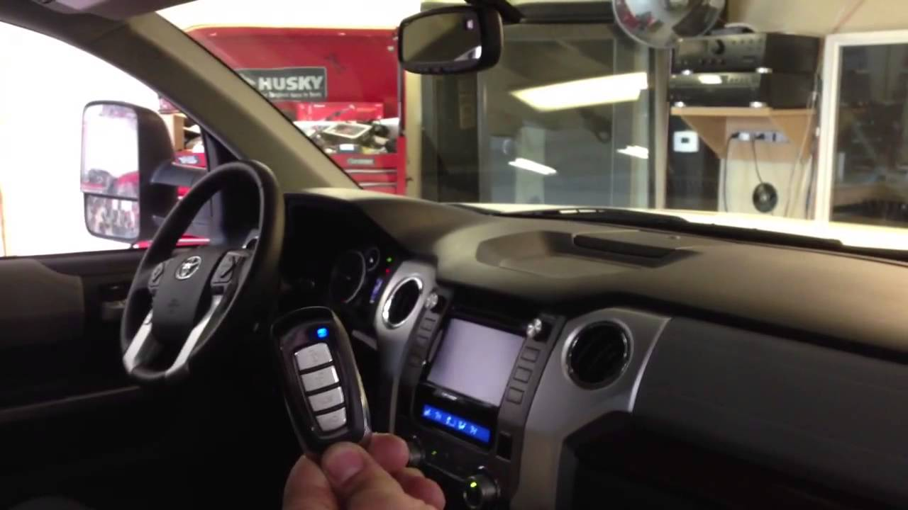 2014 toyota tundra limited remote start youtube. Black Bedroom Furniture Sets. Home Design Ideas