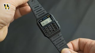The iconic Casio Calculator watch - a MUST for every geek