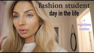 fashion student + nighttime routine w TOUCHBeauty | kelliekerston