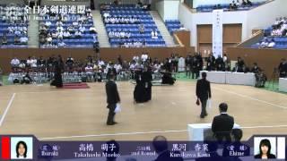 第51回全日本女子剣道選手権大会 第2回戦 2012年9月2日(日) 兵庫県立...