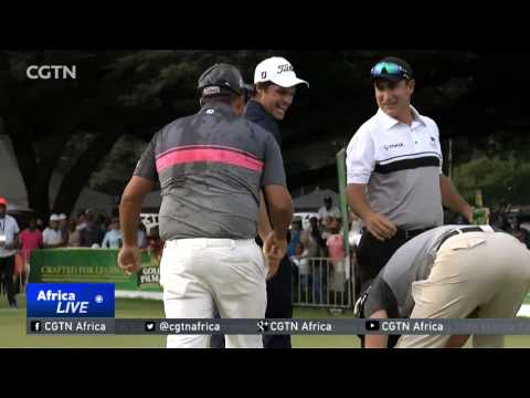 South African golfer JC Ritchie stages comeback to win the Zimbabwe Open